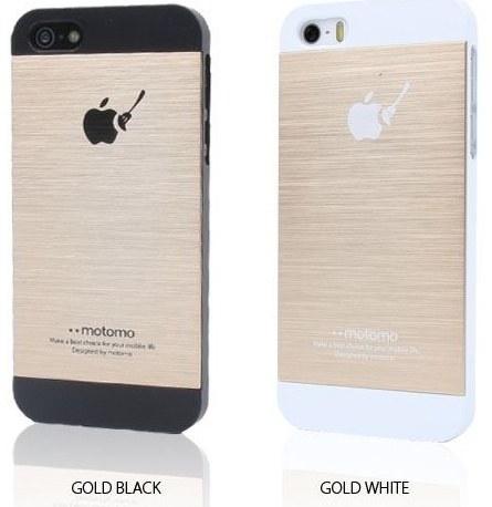 motomo iphone 5 case gold